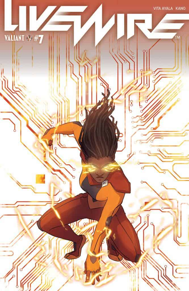 LIVEWIRE #7 - Cover C
