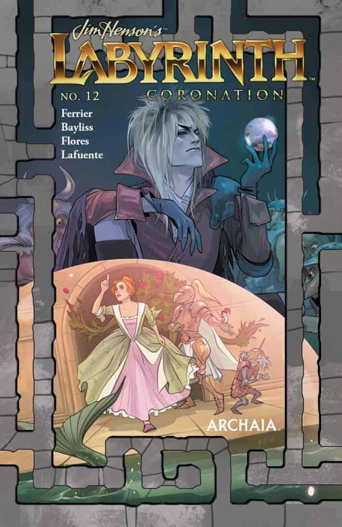 JIM HENSON'S LABYRINTH: CORONATION #12 - Main Cover