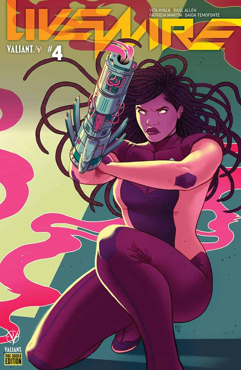 Livewire #4 - Pre-order Variant Cover