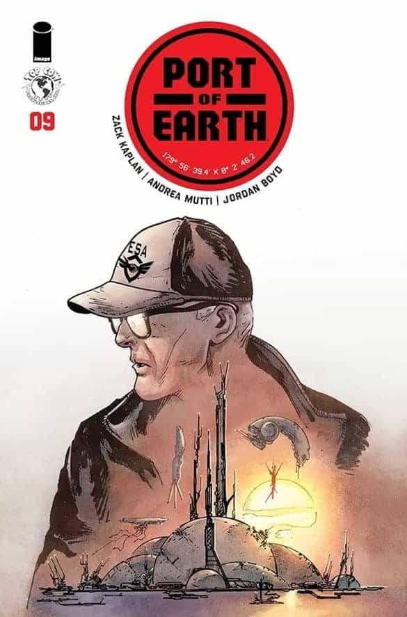 PORT OF EARTH #9 - Cover A