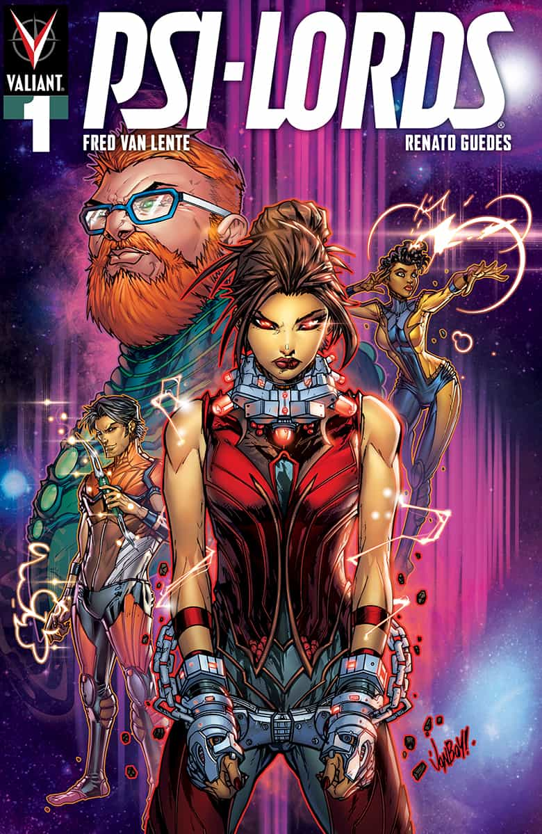 PSI-LORDS #1 - Cover B