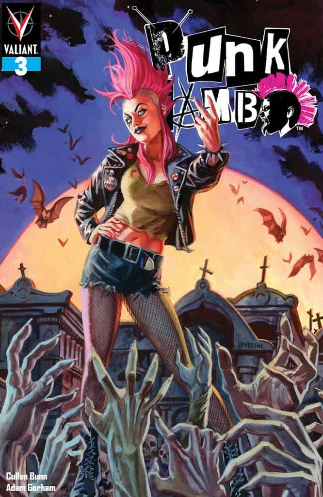 PUNK MAMBO #3 - Cover A