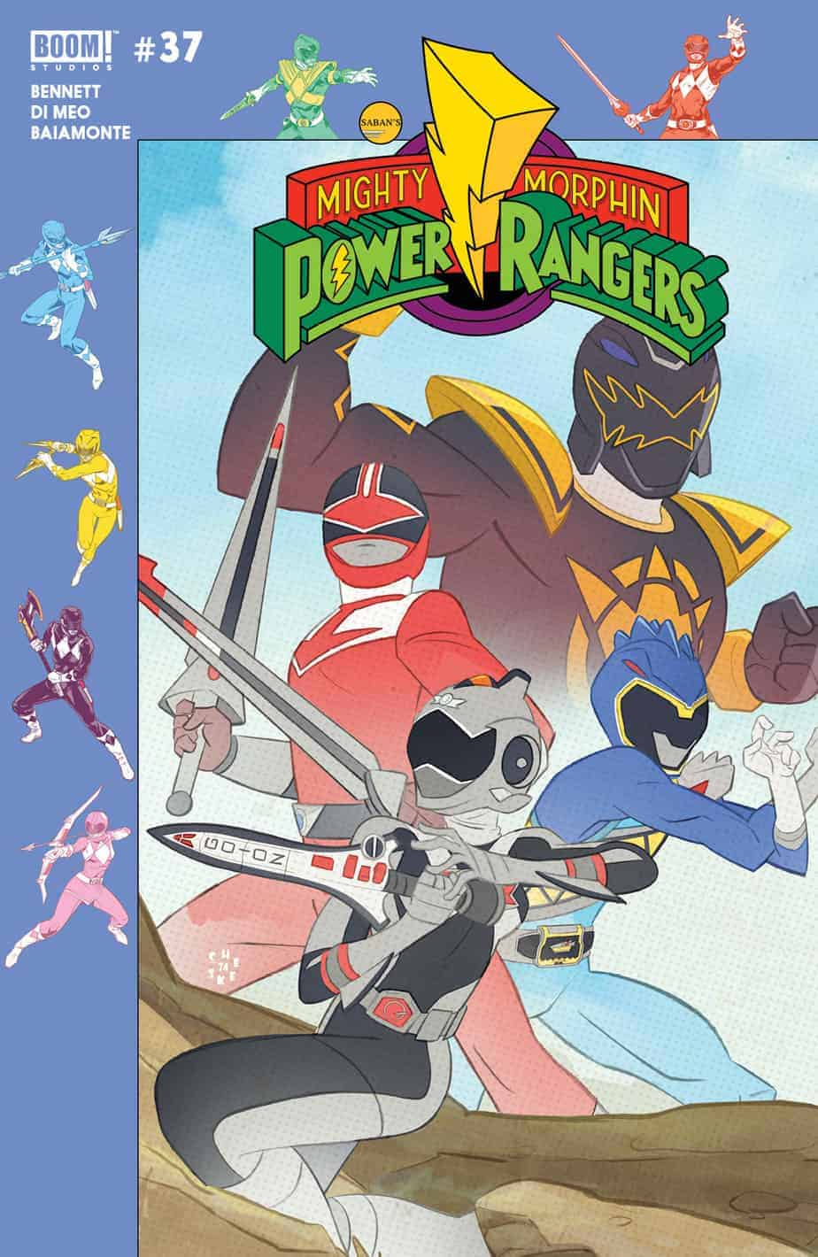 MIGHTY MORPHIN POWER RANGERS #37 - Preorder Cover