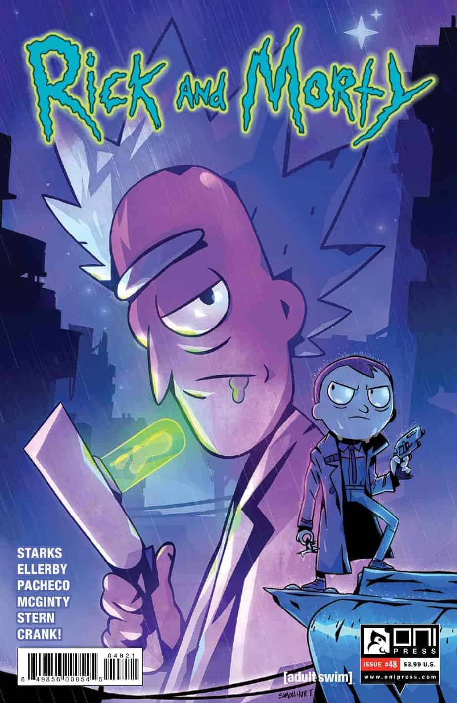 Rick and Morty™ #48 - Cover B