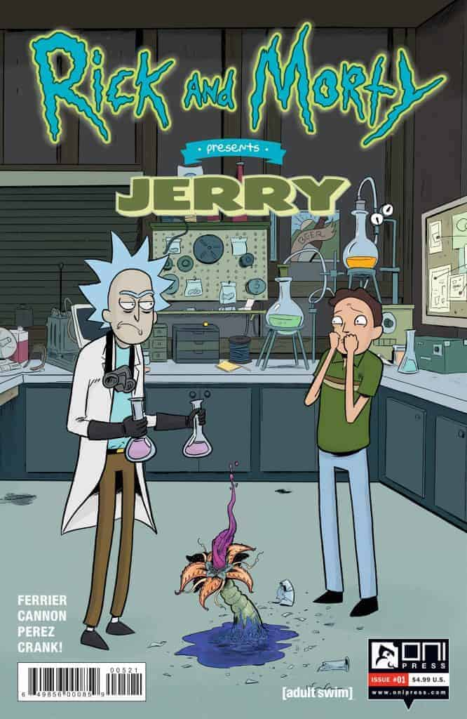 Rick and Morty™ Presents: Jerry #1 - Cover B