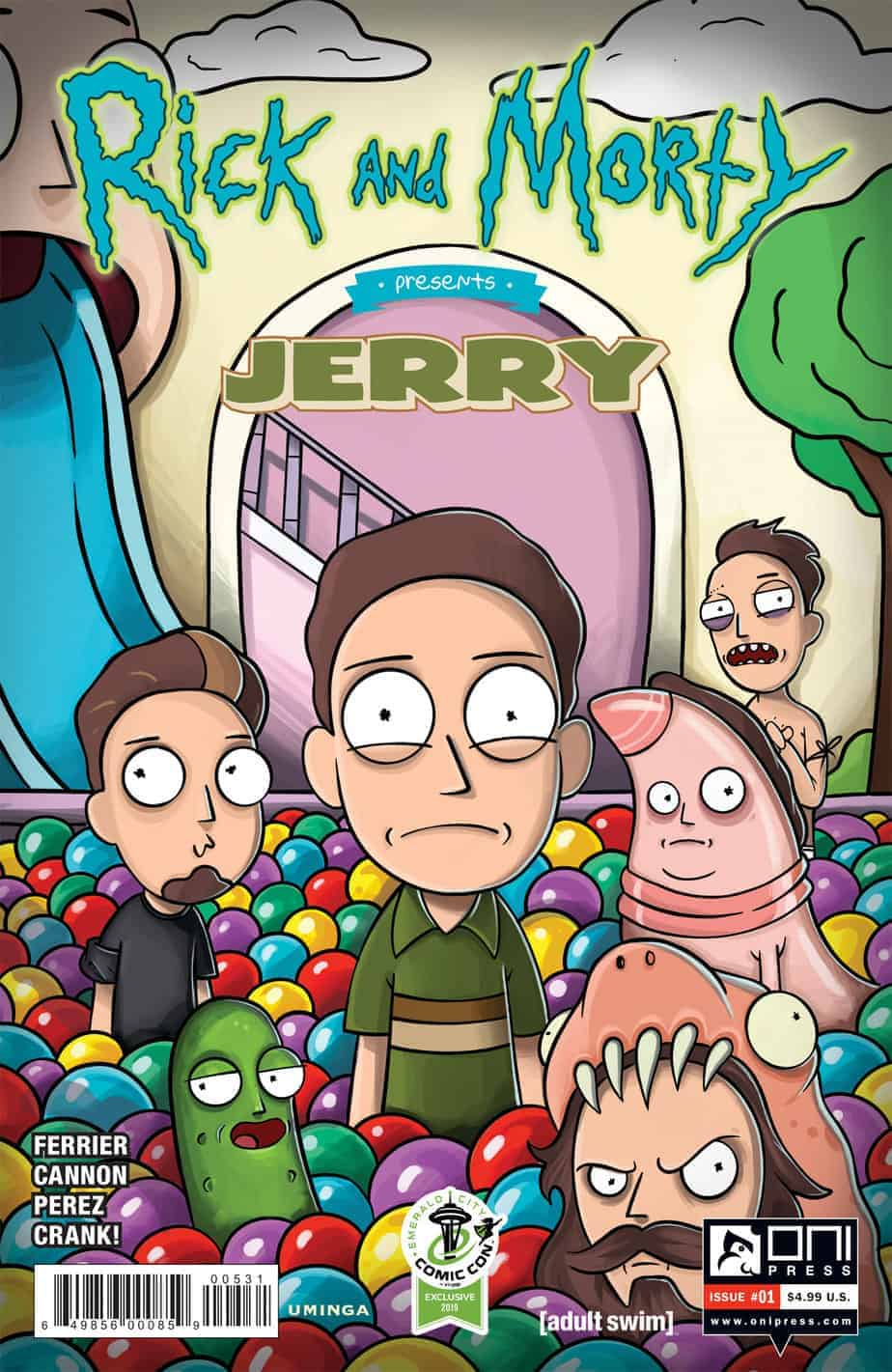 Rick and Morty™ Presents: Jerry #1 - Cover C - ECCC Variant