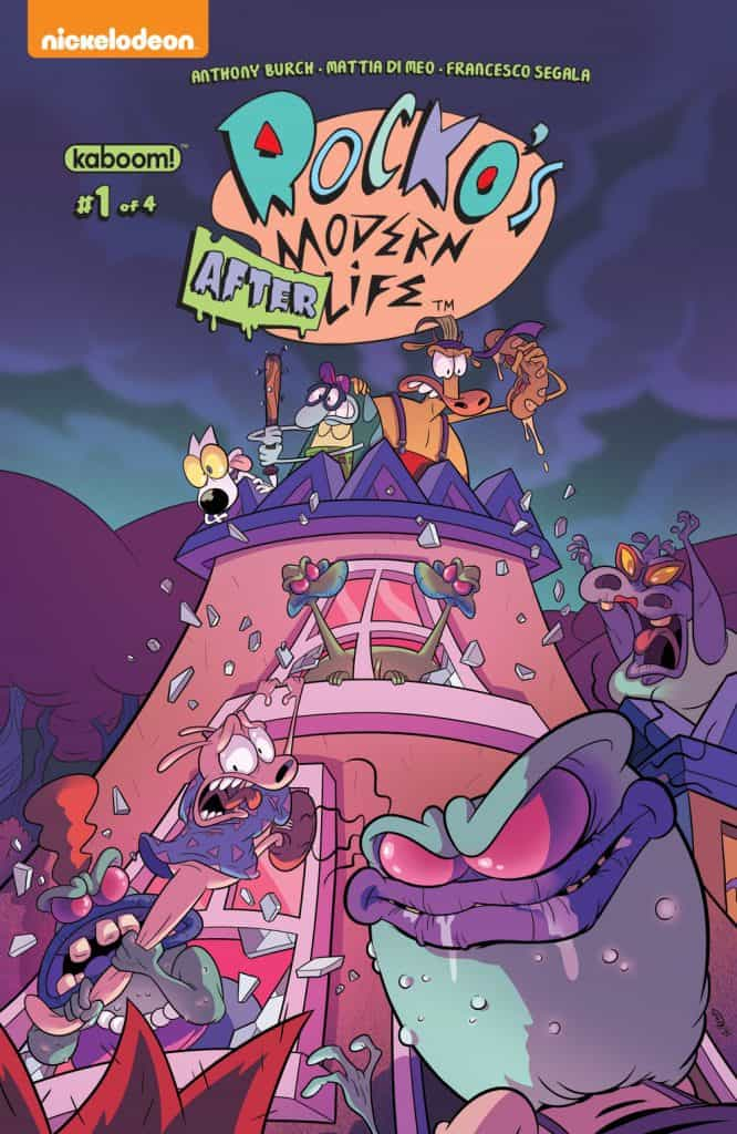 Rocko's Modern Afterlife #1 - Main Cover