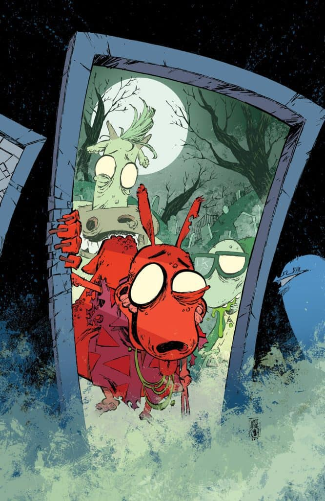 Rocko's Modern Afterlife #1 - Unlocked Retailer Incentive Cover