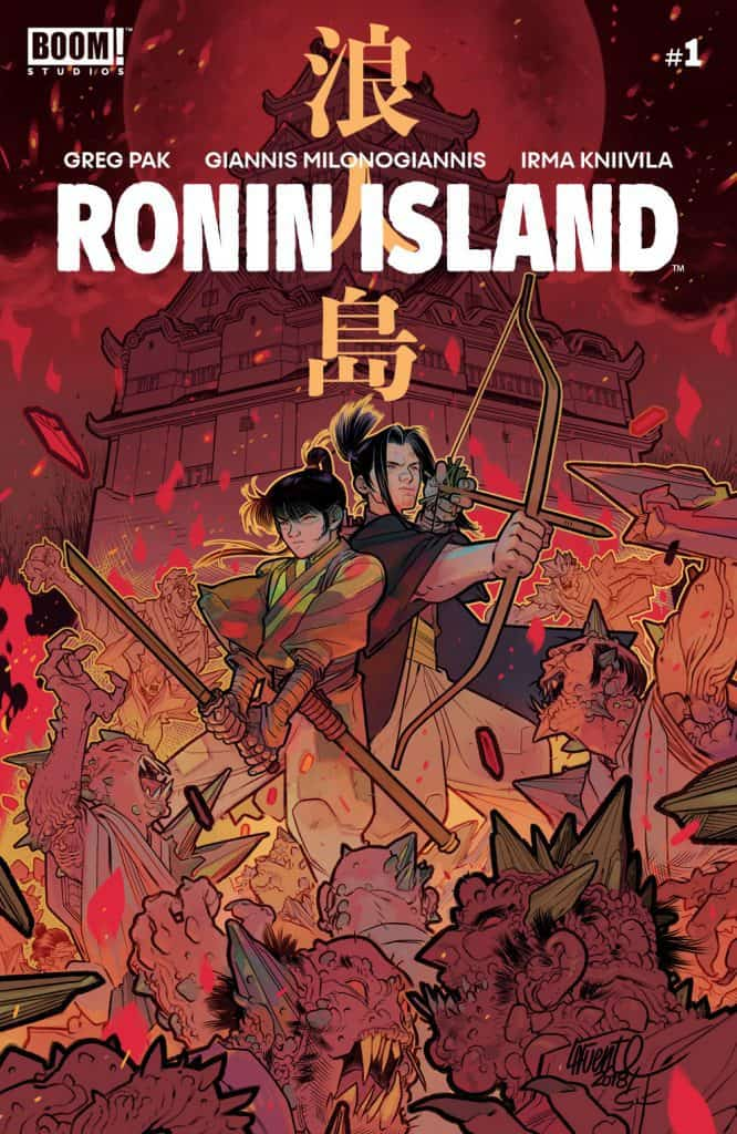 Ronin Island #1 - Incentive Cover