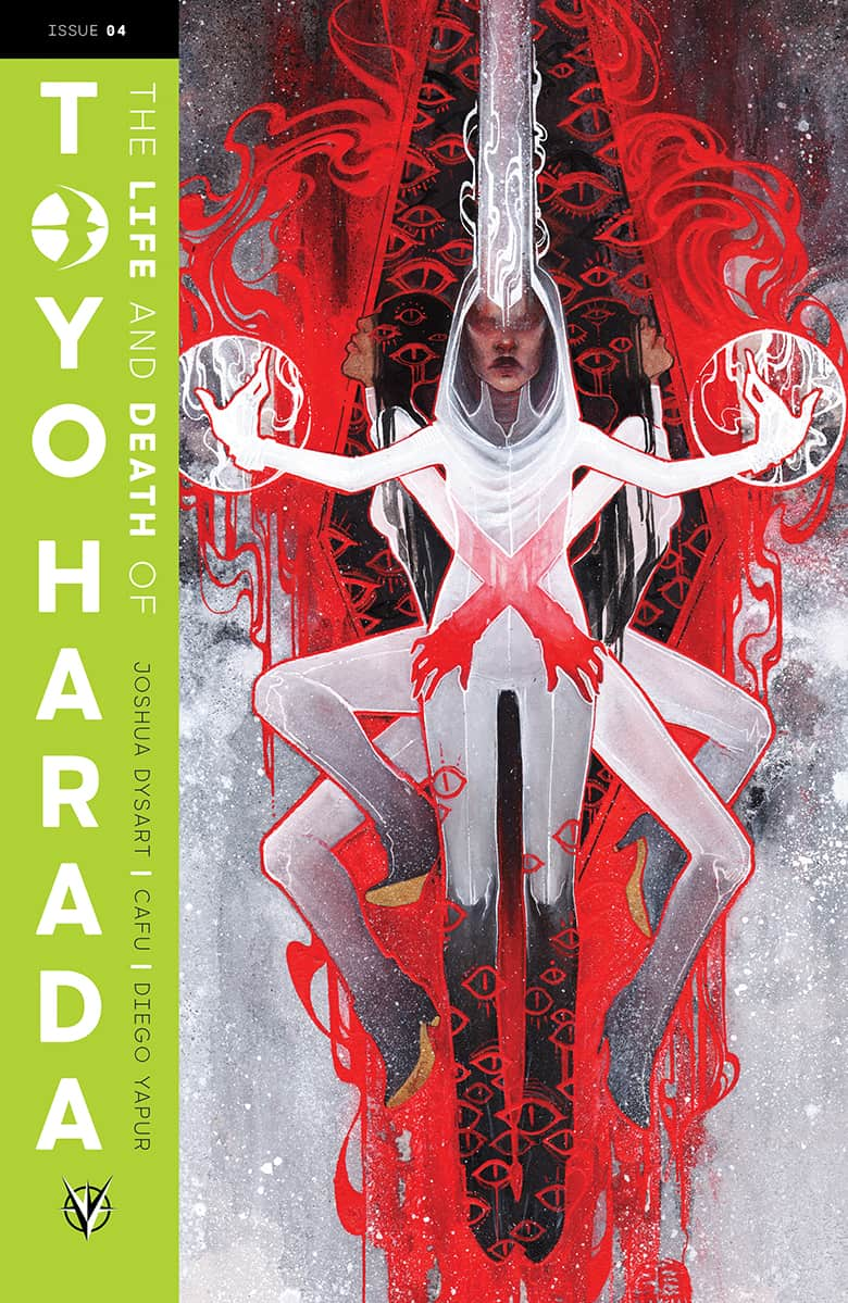 THE LIFE AND DEATH OF TOYO HARADA #4 - Cover C