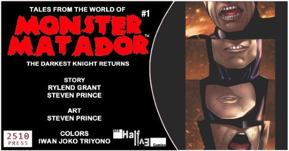 Tales from the World of Monster Matador #1 preview feature