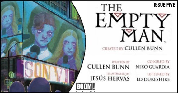 The Empty Man #5 preview feature