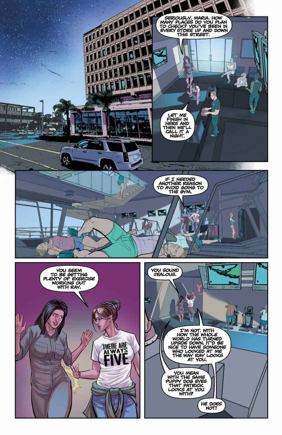 The Freeze #4 preview page 4