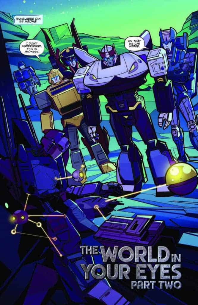 Transformers #2 preview page 3
