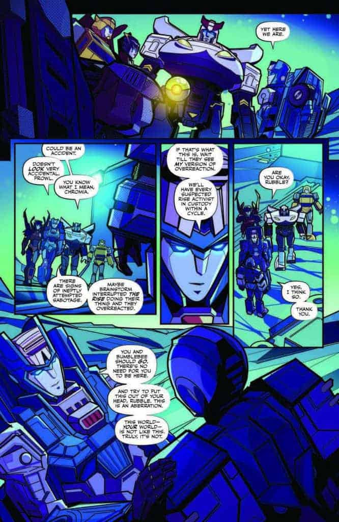 Transformers #2 preview page 4