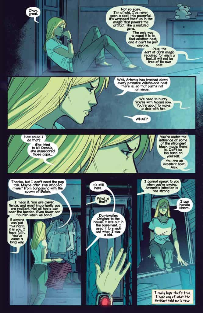 Witchblade #12 preview page 3