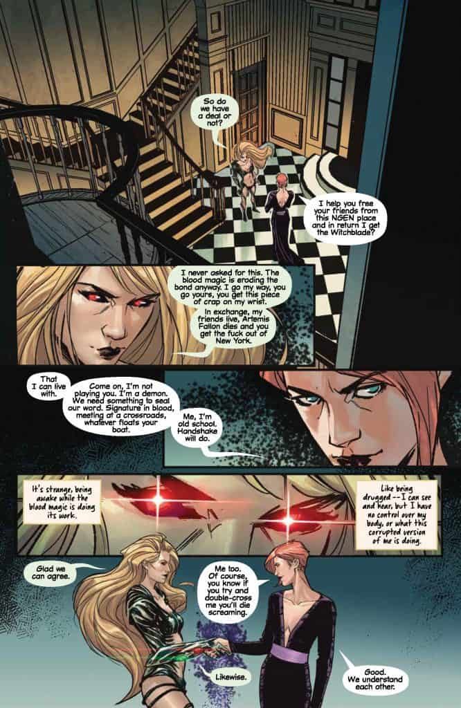 Witchblade #12 preview page 4