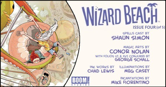 Wizard Beach #4 preview feature