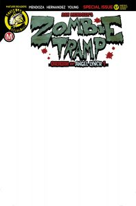 Zombie Tramp #57 Cover G Sketch