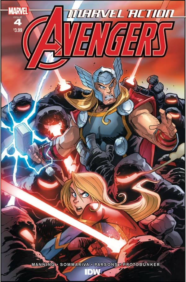 Marvel Action: Avengers #4 - Cover A