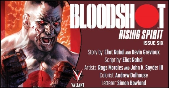 Bloodshot Rising Spirit #6 preview feature