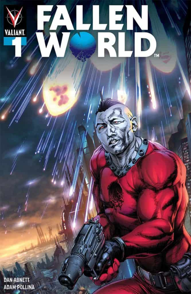 FALLEN WORLD #1 (of 5) - Cover C