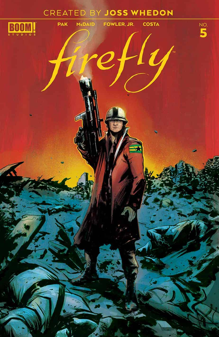 Firefly #5 – Main Cover A