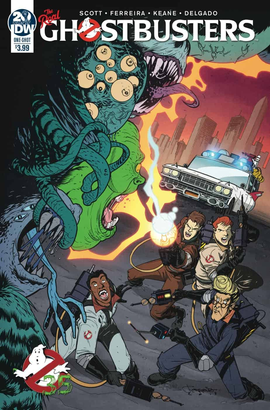 Ghostbusters 35th Anniversary: Real Ghostbusters #1 - Main Cover