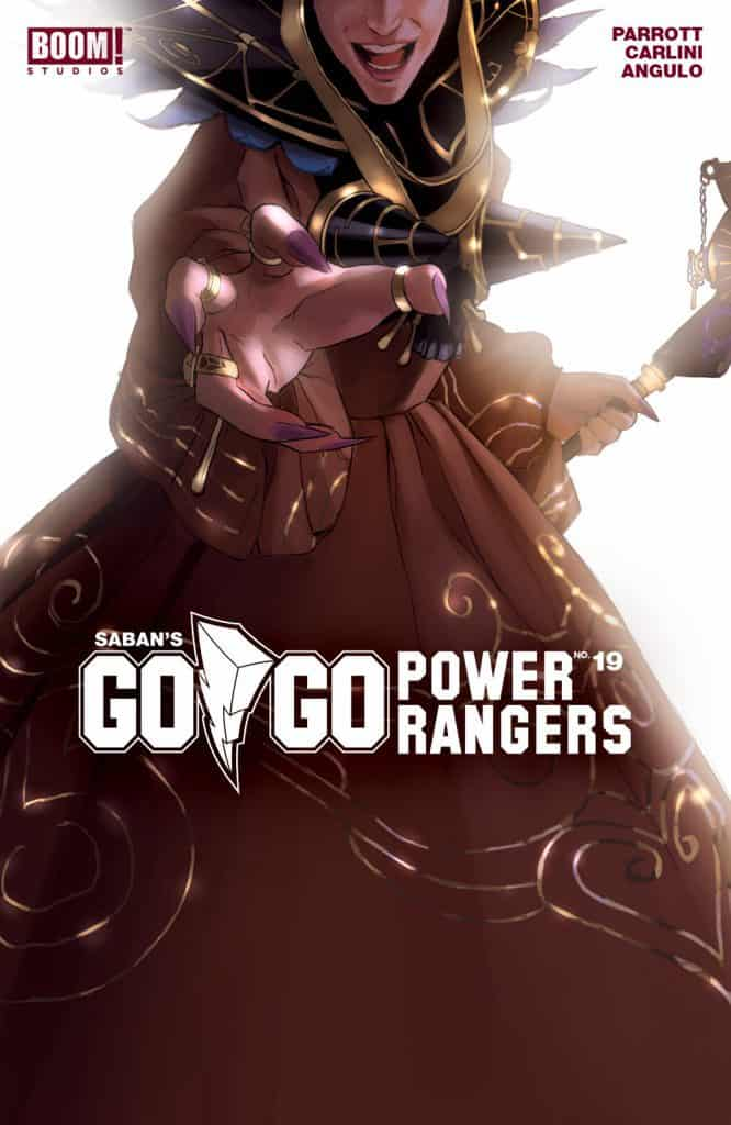 SABAN'S GO GO POWER RANGERS #19 - Intermix Cover