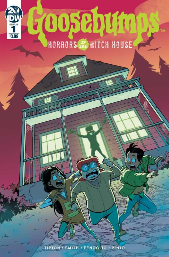 Goosebumps: Horrors of the Witch House #1 - Cover A