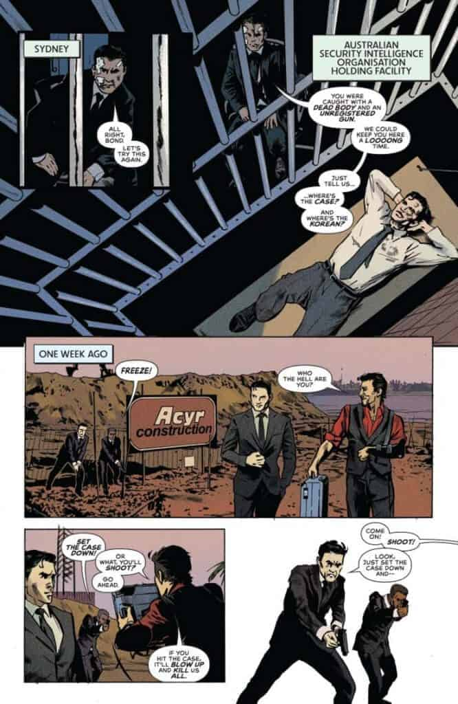 James Bond 007 #6 preview page 1