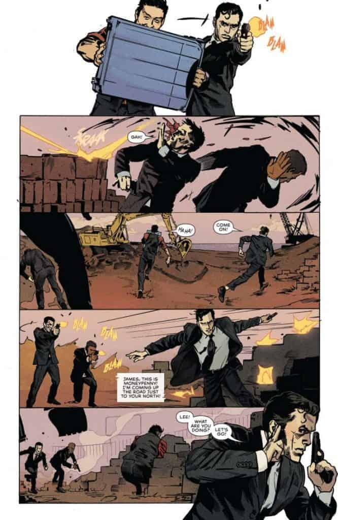 James Bond 007 #6 preview page 2