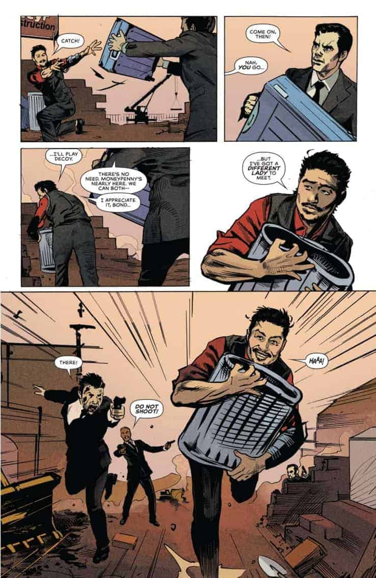 James Bond 007 #6 preview page 3