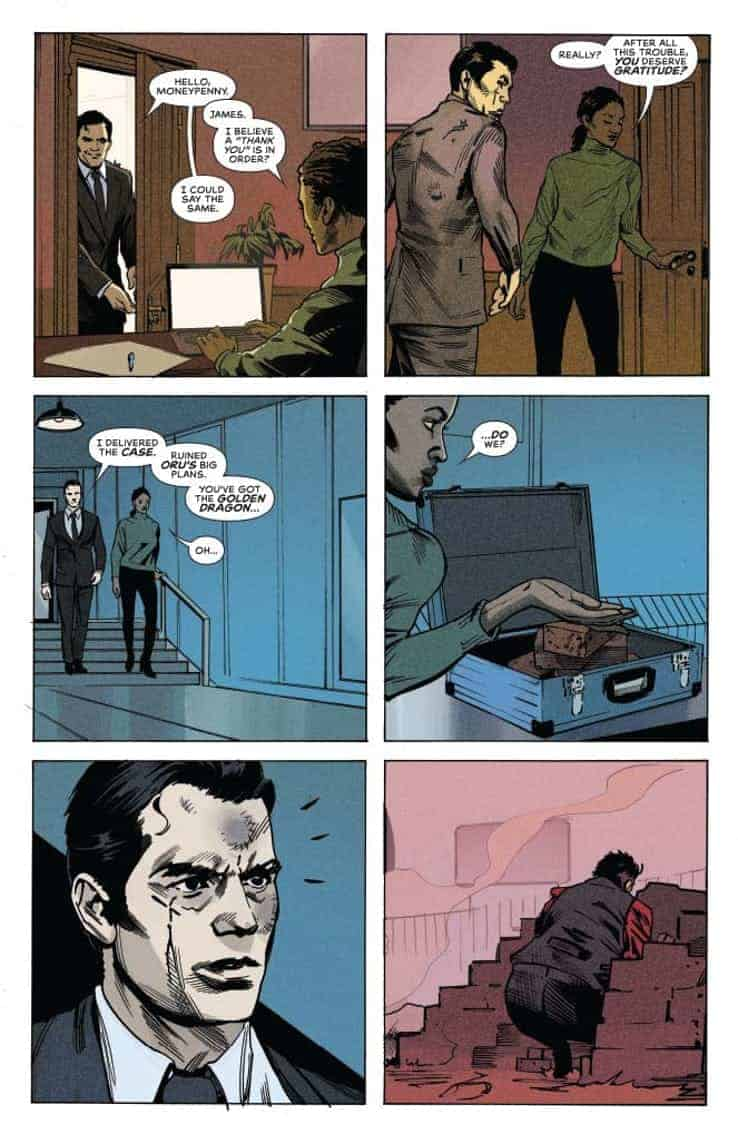 James Bond 007 #6 preview page 5