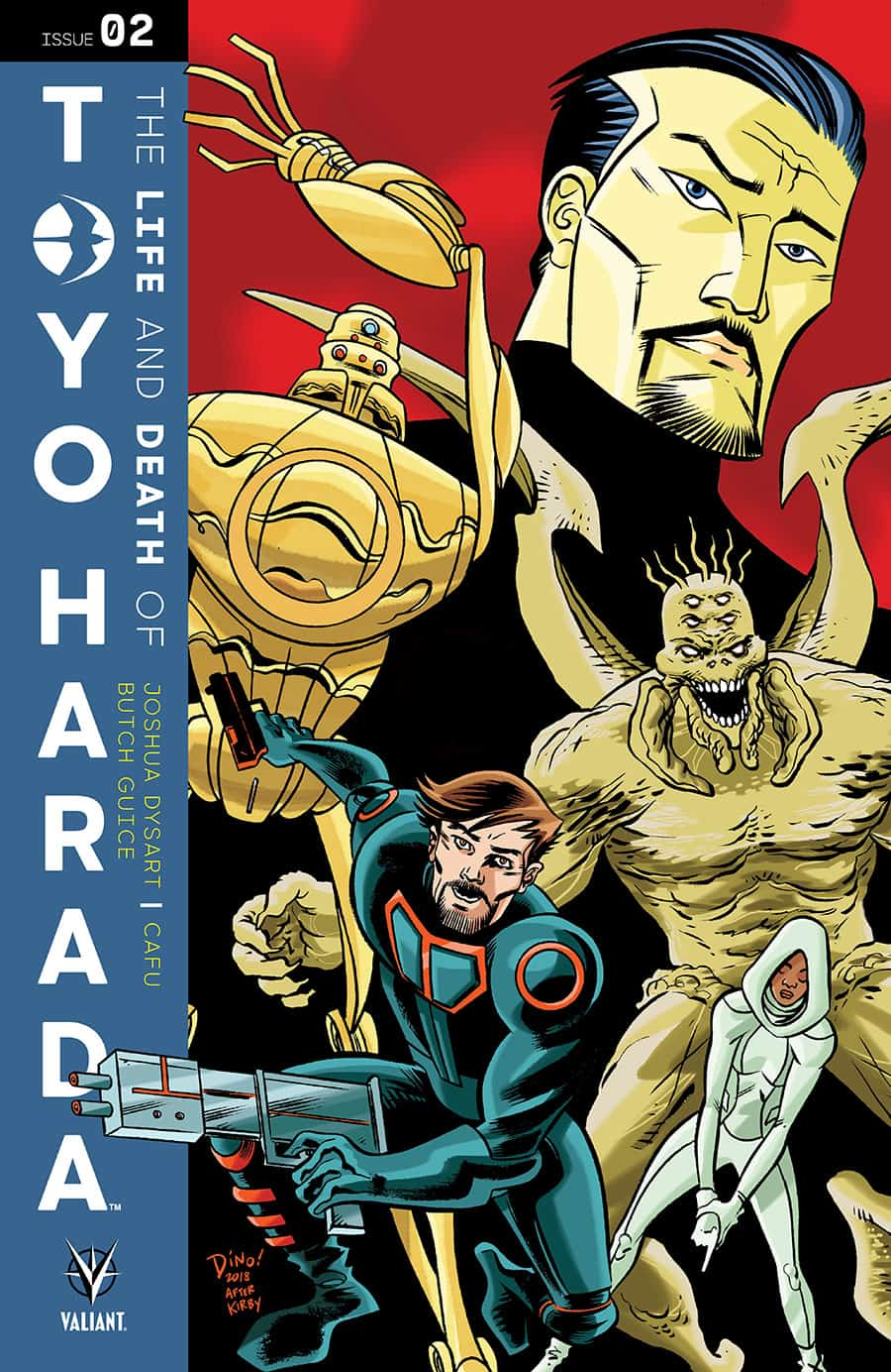 THE LIFE AND DEATH OF TOYO HARADA #2 - Cover C