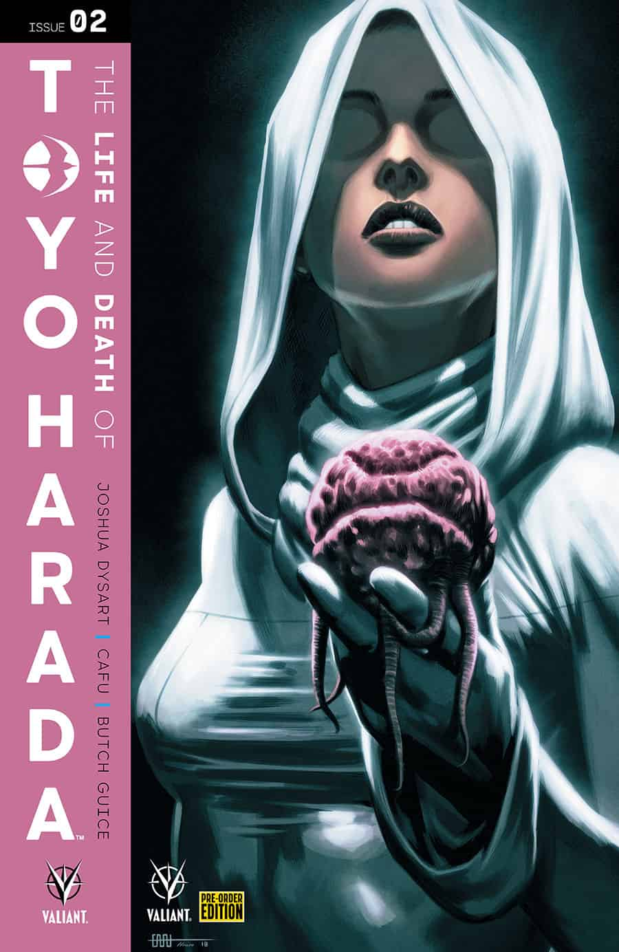 THE LIFE AND DEATH OF TOYO HARADA #2 - Pre-Order Edition Cover