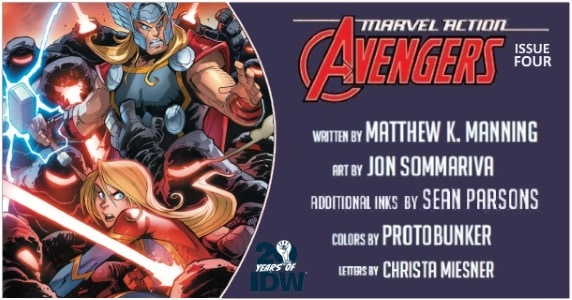 Marvel Action Avengers #4 preview feature
