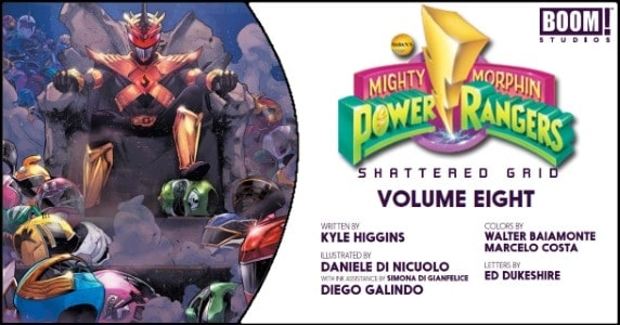 Mighty Morphin Power Rangers Vol. 8 TPB preview feature
