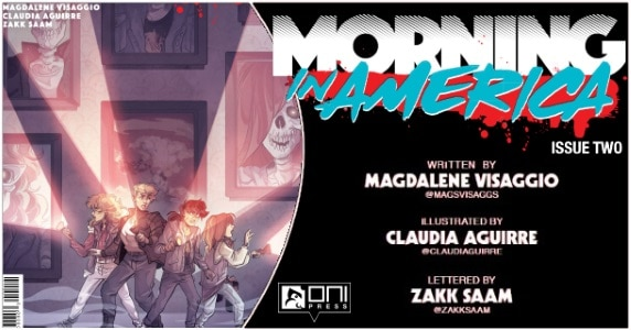 Morning in America #2 preview feature