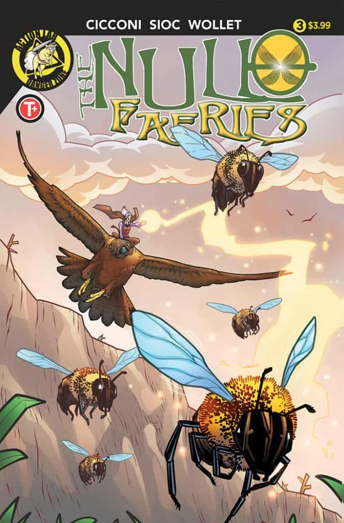Null Faeries #3 Cover A
