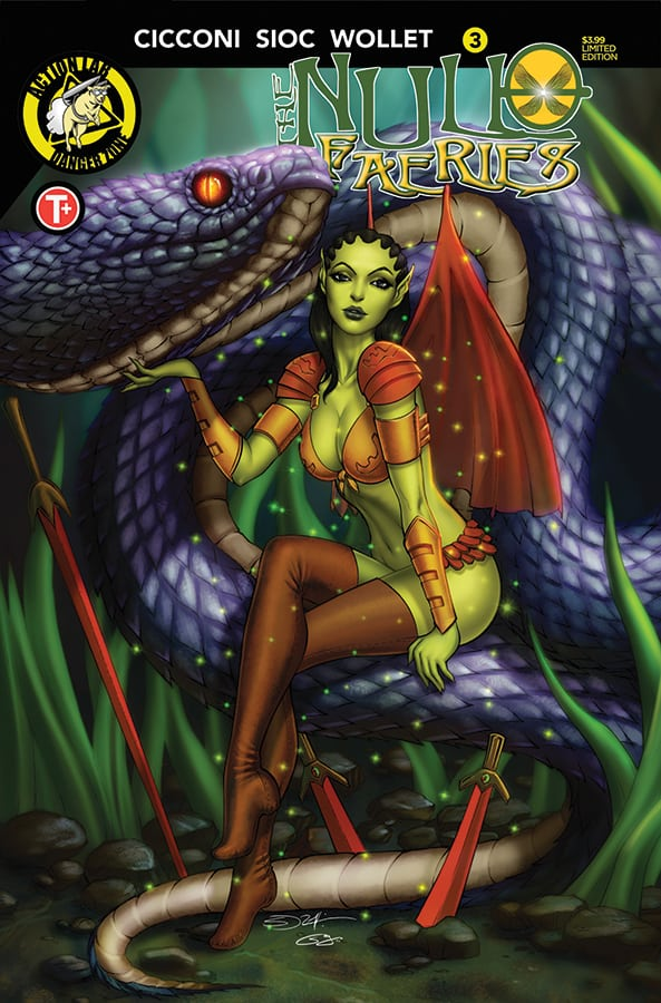 Null Faeries #3 Cover B
