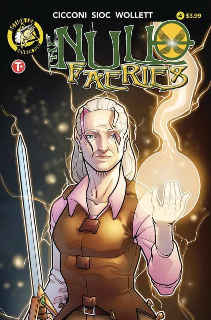 The Null Faeries #4 - Cover A