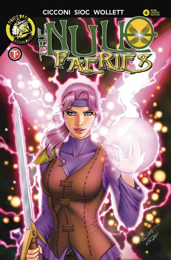 The Null Faeries #4 - Cover B