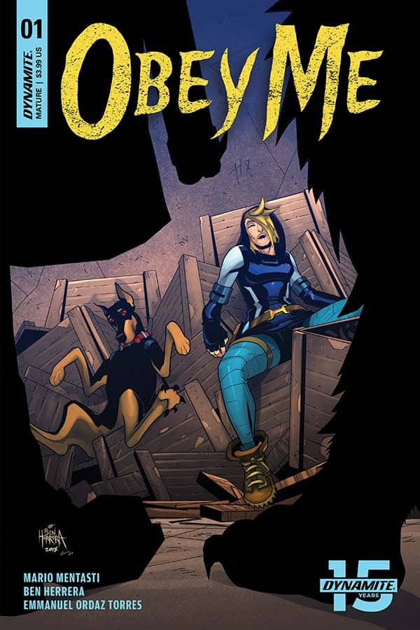 Obey Me #1 - Cover B
