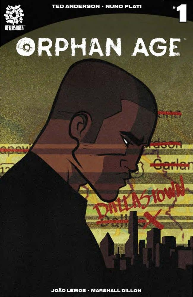 Orphan Age #1 Main Cover