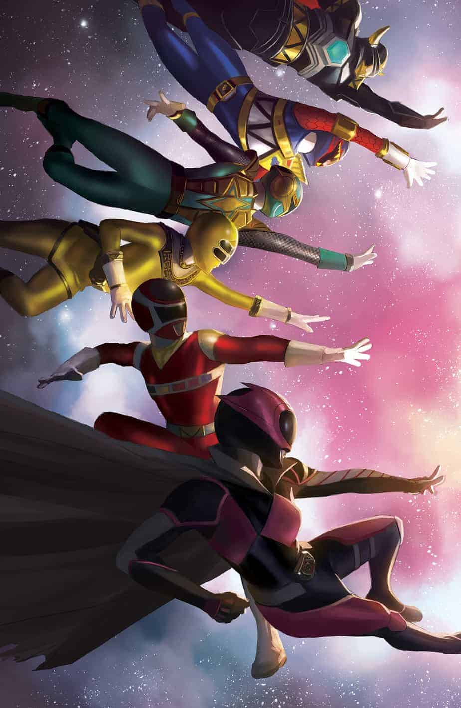 Mighty Morphin Power Rangers #38 - Unlocked Retailer Incentive Cover