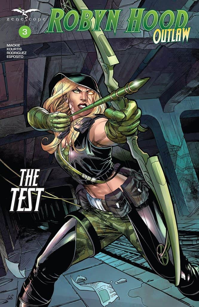 Robyn Hood Outlaw #3 - Cover A