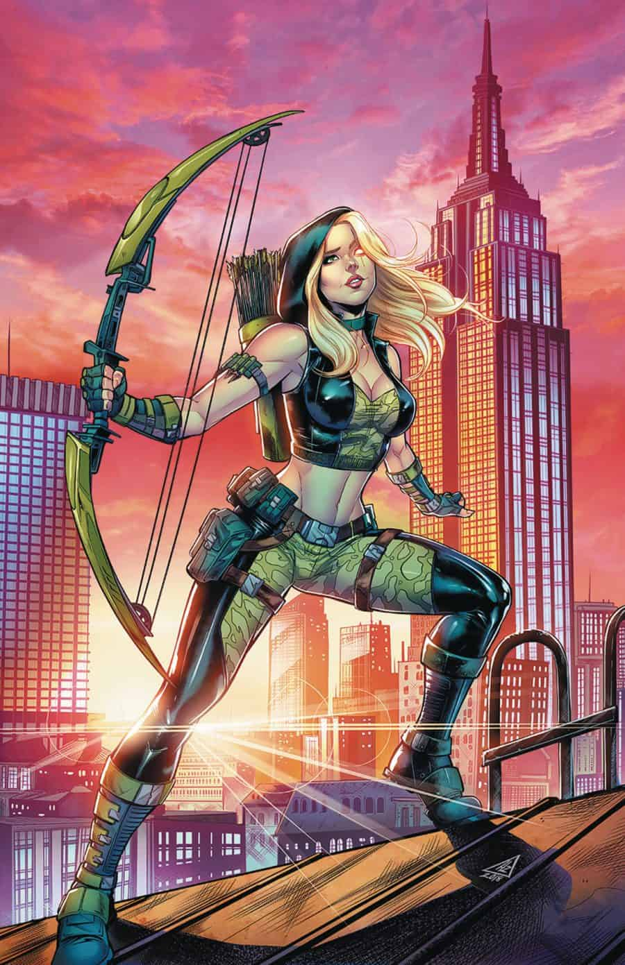 Robyn Hood Outlaw #3 - Cover C