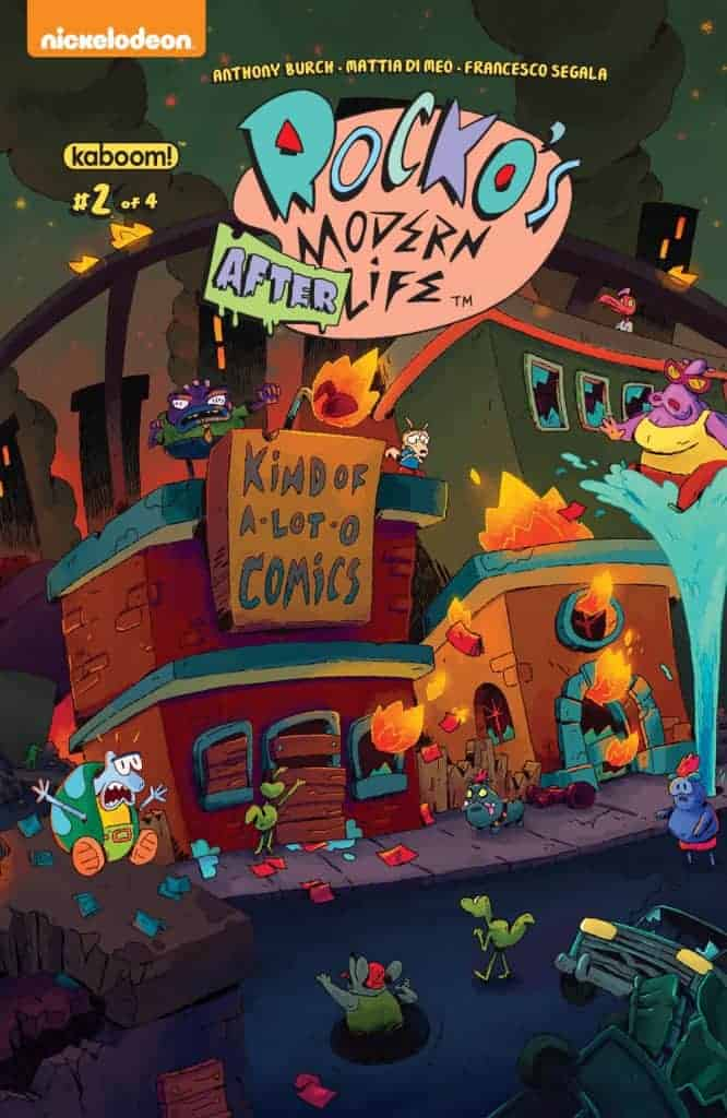 Rocko's Modern Afterlife #2 - Preorder Cover