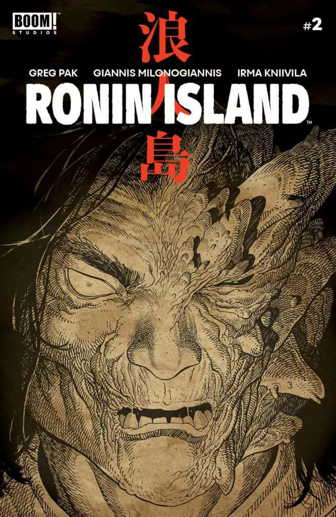 Ronin Island #1 - Preorder Cover